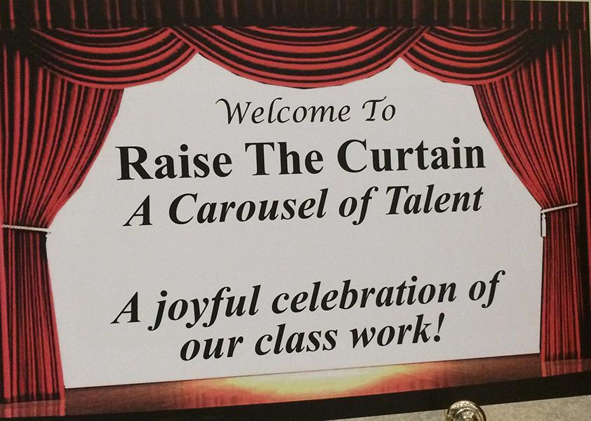 First annual Raise The Curtain, directed by Vivian Kimbler