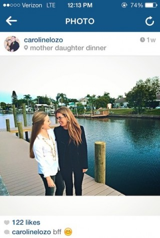 Mother- Daughter Dinner 2015
