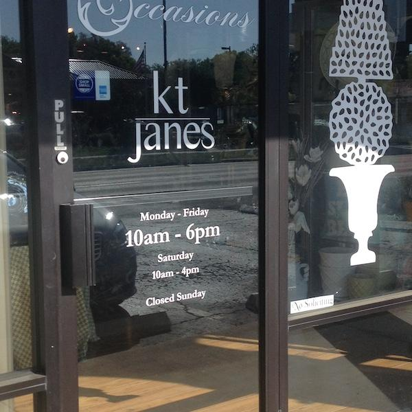 Kt Janes is located right off Dale Mabry!
