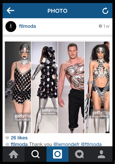 Disabled Models Walk the Runway in NYC Fashion Week 2015