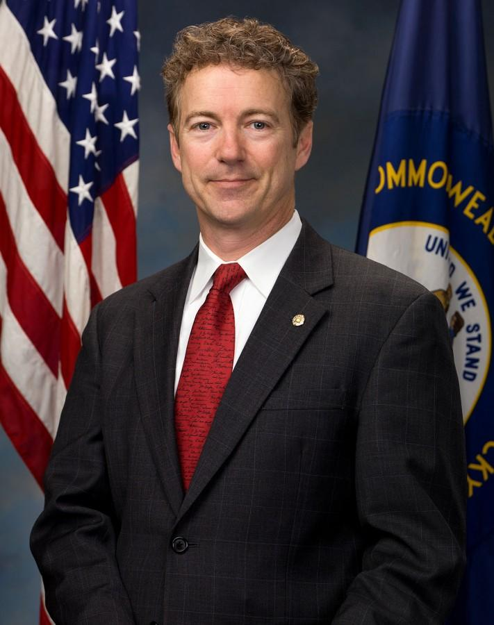 Rand Paul is running in the 2016 Presidential Election.