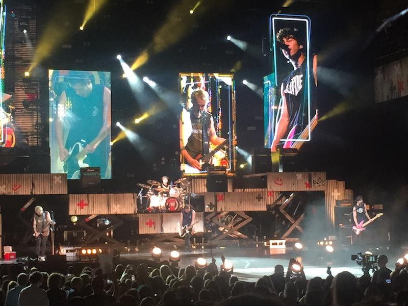 Credits: Vanessa Alvarez  5 Seconds of Summer headlines their their first tour, and spent their second to last show in Tampa.