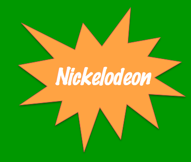 According to mentalfloss.com, Designer Tom Corey chose orange and lime green for Nickelodeon's logo because they're international distress colors.