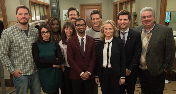 Credit: twitter.com @parksandrecnbc Parks and Rec is the perfect representation of the Academy sisterhood.