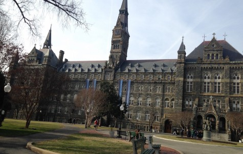 """""""Georgetown is literally so beautiful, I wish I was smart enough to get in!"""" Senior Rebecca Parrillo"""
