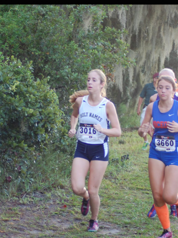 Photo Credit: Jaime Jurado Jurado running to the end of her cross country career is a memory she will never forget