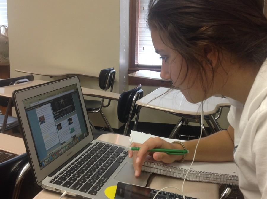 Girls in ACHONA are always on the website, reading the articles and updating themselves on the happenings of Academy.