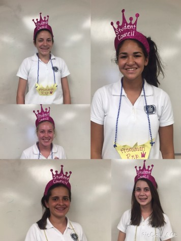 2015 Freshmen Student Council Representatives!