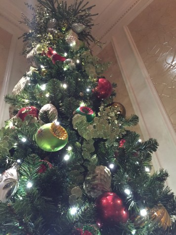 The first document of Christmas trees was in 1590, but the holiday was not officially recognized in America until 1836. Credit: Kendall Bulleit