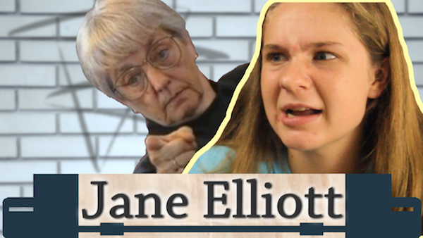 Photo Credits: Samantha Daley Lizzie, Tess, Lara, and Lindsay give us their thoughts on Jane Elliott.