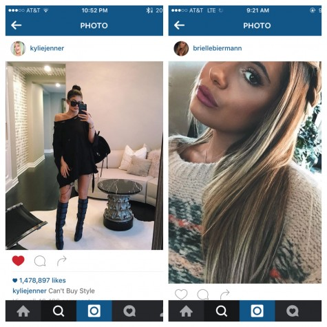 Kylie (18) and Brielle (18) both share tons thousands/millions of followers on social media, broadcasting their daily lives as well as OOTD's.