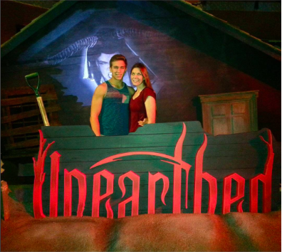 For their first date, Anya Muyres and her now-boyfriend went to Unearthed at Hallowscream; talk about intense!