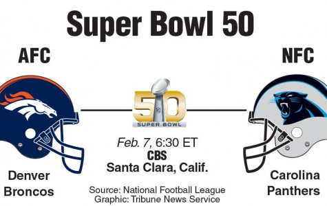 This is the first Carolina's history that they have made it to the Super Bowl. This is the Bronco's ninth run in the Super Bowl.