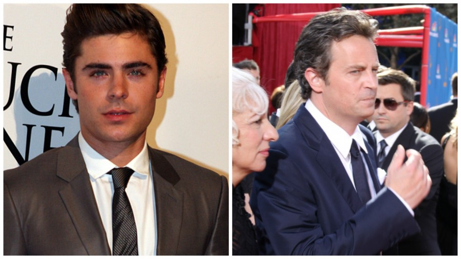 Credit: Courtesy of commons.wikimedia.org and pl.wikipedia.org  Some fans put into play the fact that Perry played the older of Efron in 17 Again, which is why they both are missing the reunions.