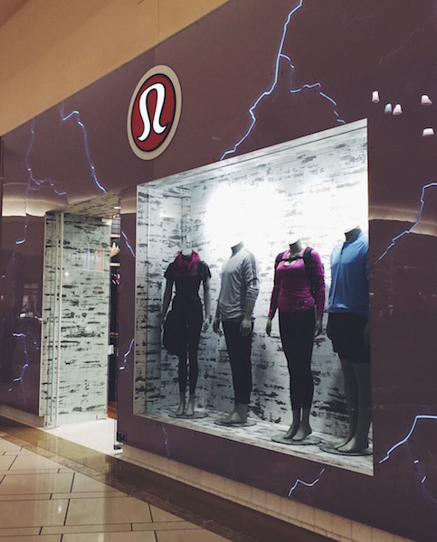 Discounted Lululemon can be found in stores and on the website in the