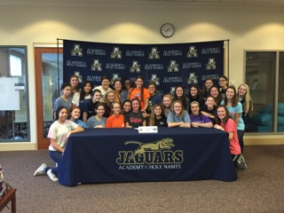 This extraordinary day was made even more special for the signees because of all the support they received from their sisters at the ceremony.