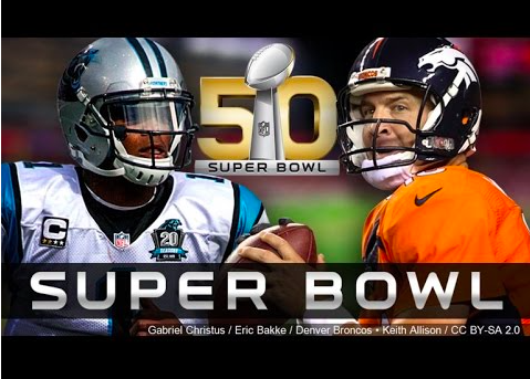 About 167 million viewers watched Super Bowl 50, making it the most-watched in the USA in TV history.