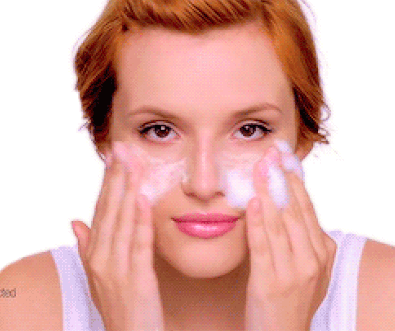 Bella Thorne is an advocate for skin care, modeling for Neutrogena and advertising her skin care routine.