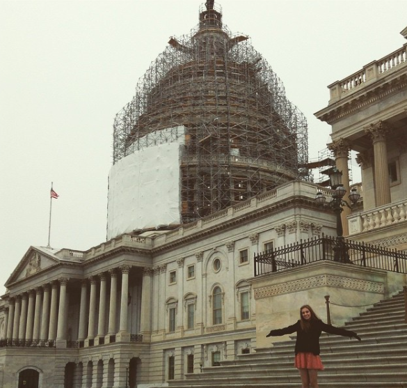 Credit: Grace Baxter/ Achona Online Living in Washington, D.C. meant I was allowed to explore the city on the weekends.