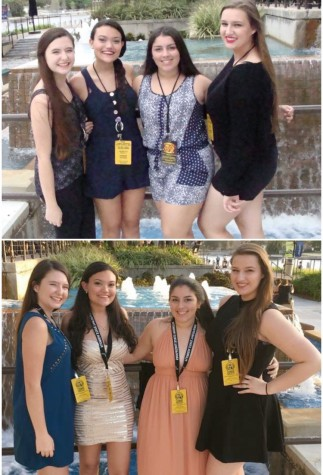 Troupe 0846 Seniors pose at the same location they did four years ago!