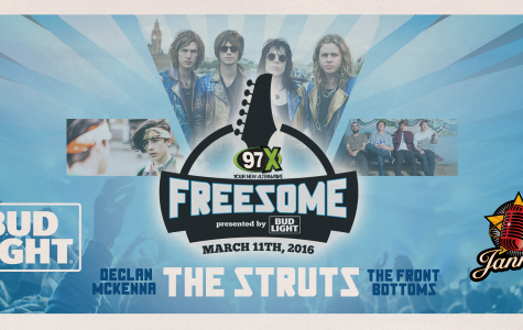 97x's Freesome will be held at Jannus Live on March 11, 2016. Credit: 97x Online