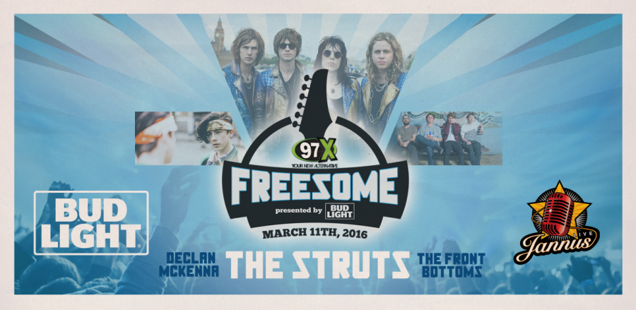 97xs+Freesome+will+be+held+at+Jannus+Live+on+March+11%2C+2016.+Credit%3A+97x+Online