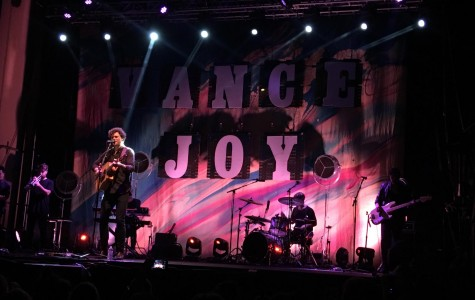 Olivia Rivas was joyful while at the Vance Joy Concert. Credit: Olivia Rivas (used with permission)