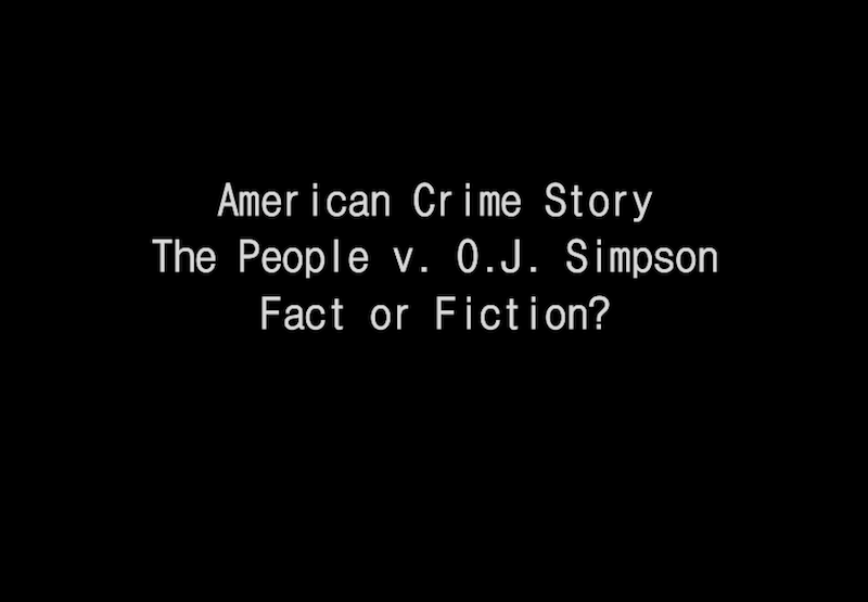 American Crime Story is from the same people who created the popular show, American Horror Story.