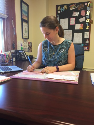 There are many powerful women walking around the halls of Academy as well, for example Assistant Principal Erin Krukar.