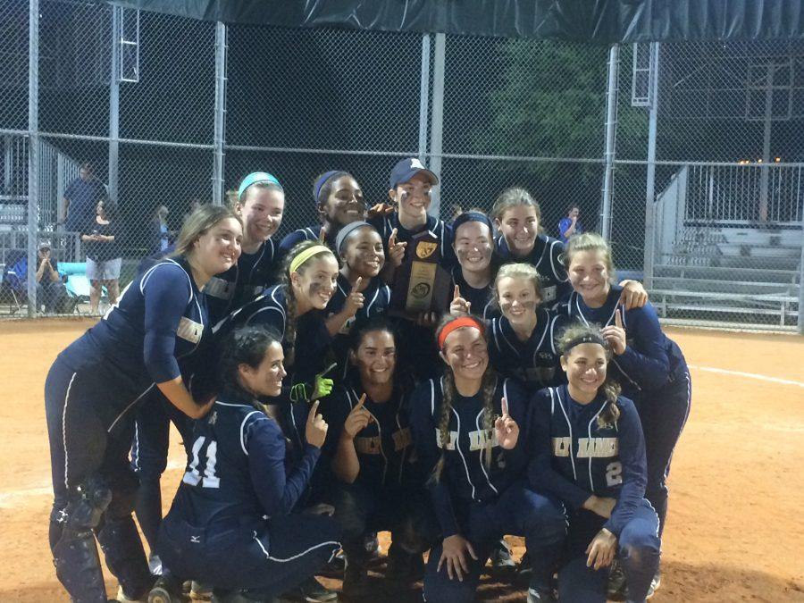 While+winning+a+district+championship+is+always+exciting%2C+it+was+even+better+for+the+softball+team+because+the+victory+came+against+their+biggest+rivals%2C+Tampa+Catholic.+