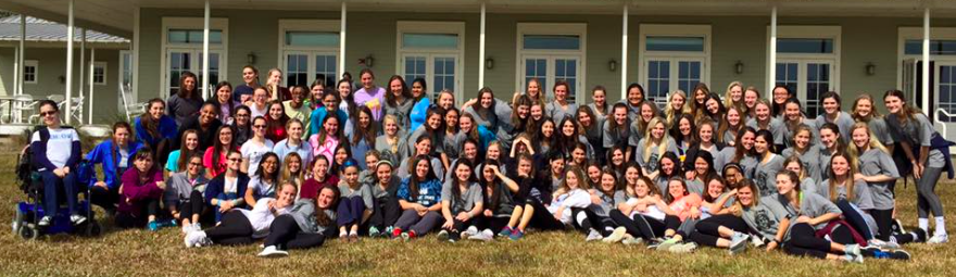 Senior Retreat managed to unite us even further, making it very easy for girls to cry the entire two days.