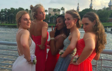 Contrary to Dickinson's and Sutton's shared belief that a girl is less likely to attend prom dateless, a group AHN seniors chose to