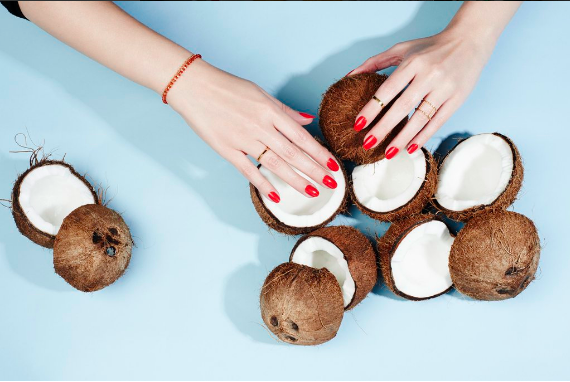 If you purchase coconut oil, look for labels that say virgin and make sure its not hydrogenated or partially hydrogenated and contains no trans fats.