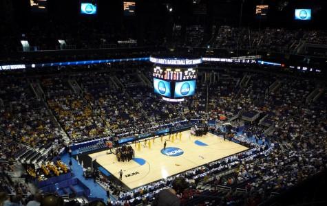 Villanova defeats UNC 77-74, ending the month-long college basketball tournament nicknamed March Madness.