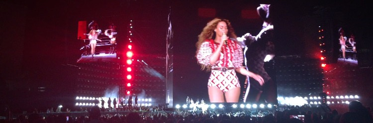 Beyonce gave an outstanding performance to a sold-out crowd at Raymond James Stadium that included many Academy girls.
