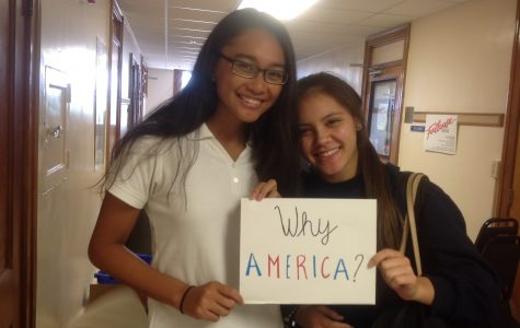Tess Jakubiec and Lara Lontoc are excited to learn about their families' histories.
