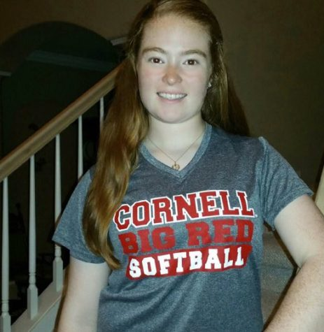 Hale is now often seen sporting Cornell clothing to show her support for her new school.