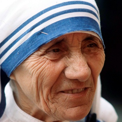 Mother Teresa knew she wanted to become a Nun at age 12.