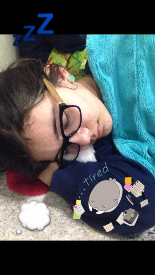 Academy girls' rigorous schedules leave them with little time for sleep. (Credit: Jessica Zakhary/Achona Online)