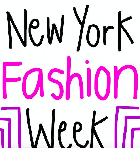 There will be over 300 events for New York Fashion Week. They generate about $900 million for the NYC area.