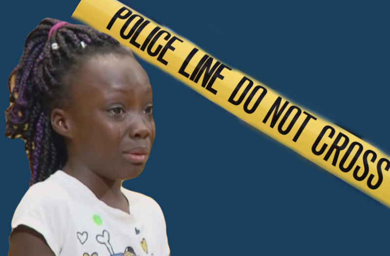 I cant stand how we are treated -Zianna Oliphant (featured in image)