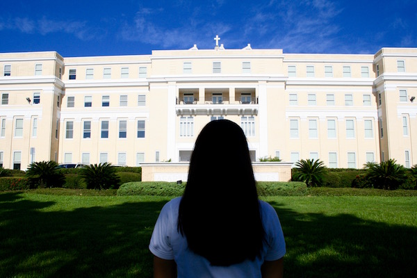 Credit: Rachel McKenna/Achona Online Being on Bayshore, Academy is a beautiful school with lots of history.