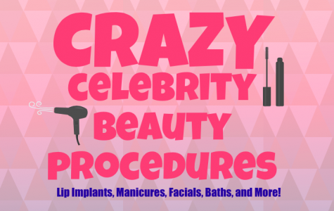 "Throughout the years, celebrities have used their insane amounts of money to buy wacky beauty treatments.  Freshman, Macie Ferrer, claims these procedures to be ""weird and ridiculous, but also funny to hear about."""
