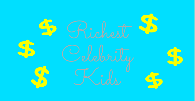 Celebrity kids are lucky enough to be living a life filled with the nicest things from diamond encrusted Barbie dolls to huge , extravagant birthday parties.