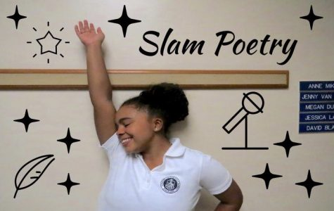 Kaia Floyd steps into the spotlight every last Friday of the month to preform her slam poetry