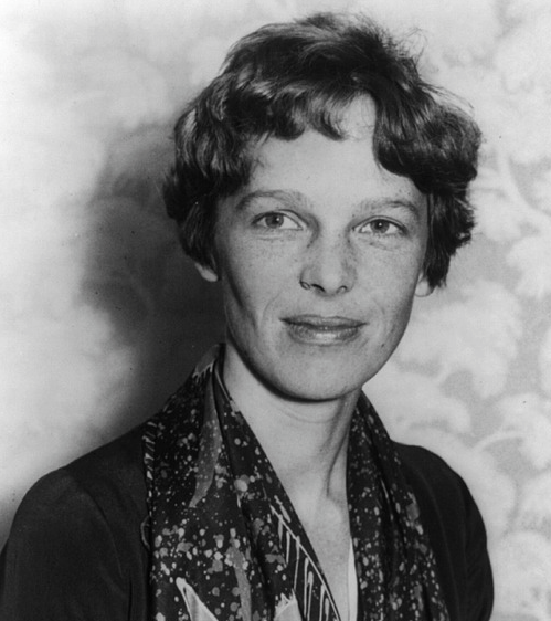 Amelia Earhart disappeared at age 39 while attempting to circumnavigate the globe.  Photo Credit: Pixabay