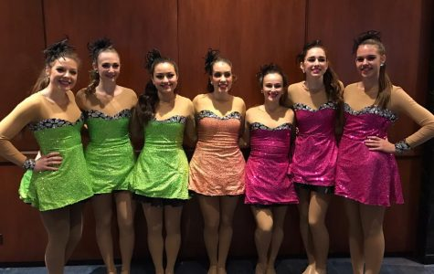After performing in front of Macy's in New York City, the dancers were beyond excited to find out that they had just danced on national television. Credit: Emily Hoerbelt/Achona Online