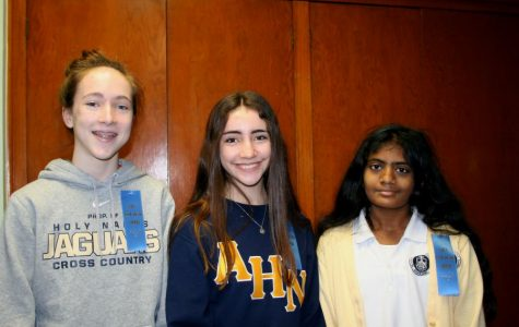 (From left to right) Megan Hughes, Sarah Gonzalez, and Lorraine Johnson