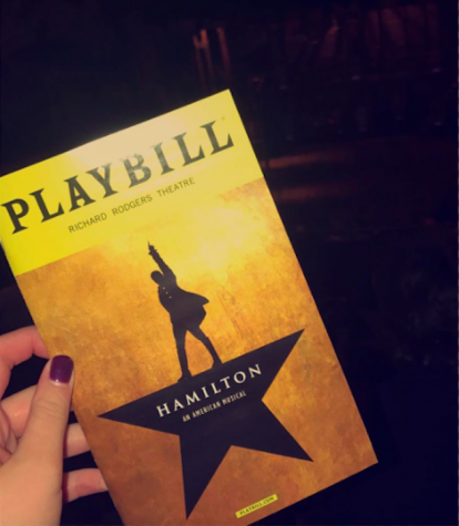 Regardless of the political backlash towards Hamilton, fans of the play are vying to get tickets, if they haven't already gotten them. (Photo Credit: Gracie Wipfli-used with permission)