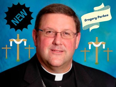 Photo Credit: Diocese of St. Petersburg - Edited by Sara Phillips. At 52, Bishop Parkes fits the median age at which most Bishops receive their appointment.